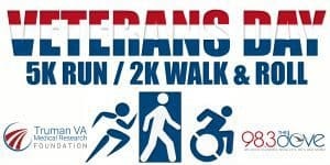 Veteran's Day 5K Run/2K Walk And Roll